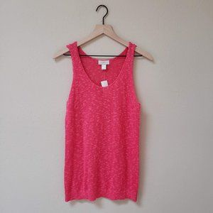 LOFT - NWT Pink Sweater Tank Top